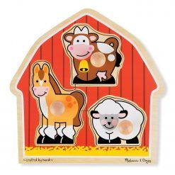 Puzzle z uchwytami stodoła