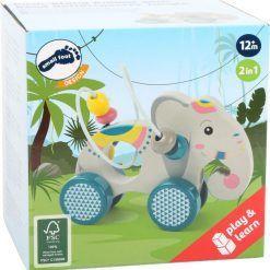Słoń do pchania z pętlą