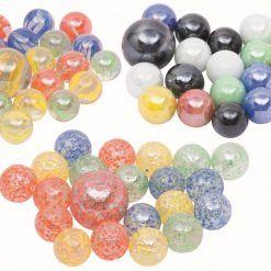 Szklaki szklane kulki 21 szt. Marbles