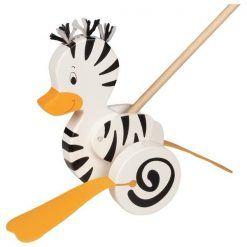 Zebro-kaczka na patyku