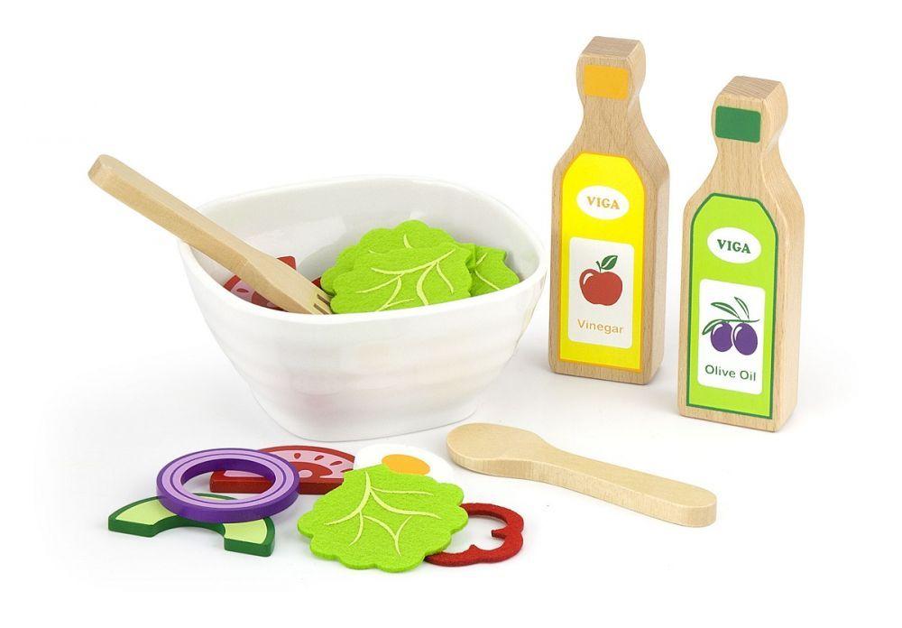 Zestaw sałatkowy – zrób sałatkę, Viga, 3+, V51605