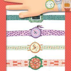 Tatuaże metaliczne Zegarki Wendy
