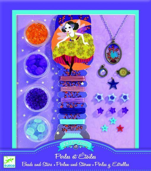 Zestaw biżuterii Perły i gwiazdki