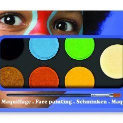 Farby do malowania twarzy Nature