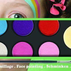 Farby do malowania twarzy Sweet