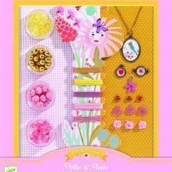 Zestaw biżuterii Perły i Kwiaty