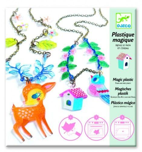 Magiczna biżuteria Jelonek i ptaszek