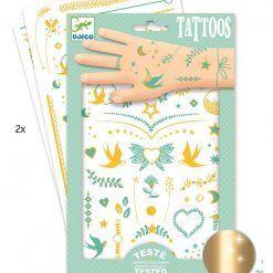 Tatuaże metaliczne Klejnoty Lily