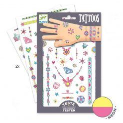 Tatuaże neonowe Klejnoty Jenni