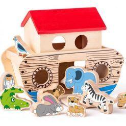 Arka Noego zabawka drewniana