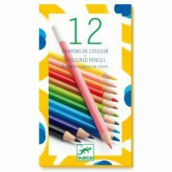 Kredki ołówkowe - 12 kolorów