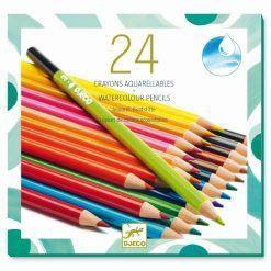 Zestaw kredek akwarelowych 24 kolory