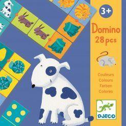 Gra domino Kolorowe zwierzątka