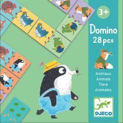 Gra domino Zwierzątka