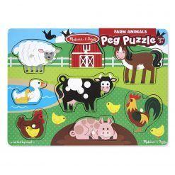 Puzzle układanka Farma