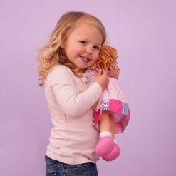 Duża lalka szmaciana Grażynka