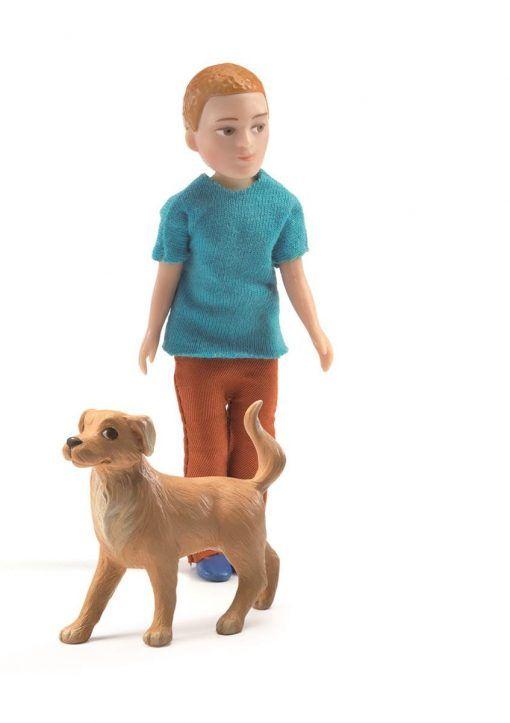 Figurka Xavier z psem