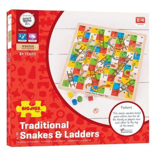 Klasyczna gra węże i drabiny