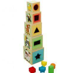 Kubeczki – wieża z sorterem