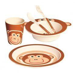 Naczynia z bambusa Małpka