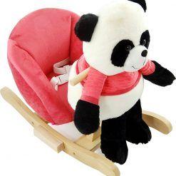 Panda na biegunach z fotelikiem