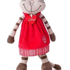 Pluszowa kotka Andżela w sukni