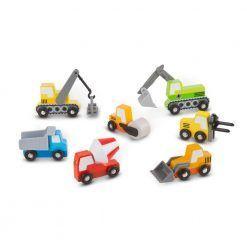 Pojazdy budowlane zestaw