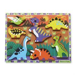 Puzzle 3D Dinozaury