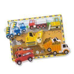 Puzzle 3D pojazdy budowy