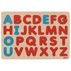 Puzzle alfabet Montessori