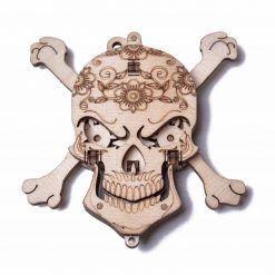 Puzzle mechaniczne Czaszka