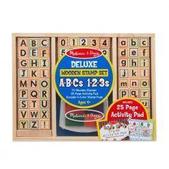 Stempelki ABC 123 zestaw