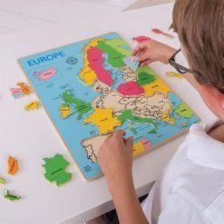 Układanka mapa Europy