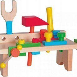 Warsztat drewniany mini z narzędziami