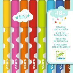 Flamastry dla maluchów 8 kolorów