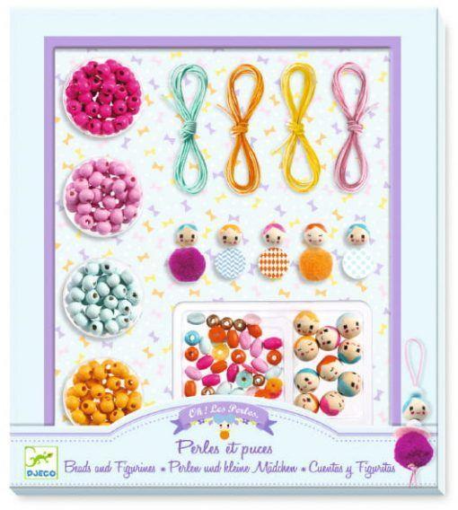 Zestaw biżuterii Perły i figurki