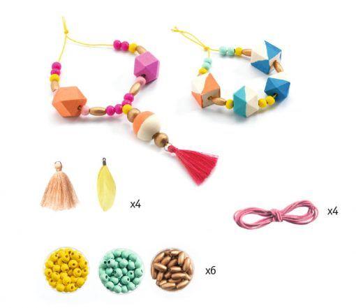 Zestaw biżuterii Perły i kostki