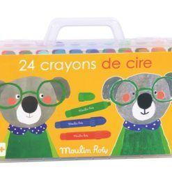 Kredki woskowe 24 kolory