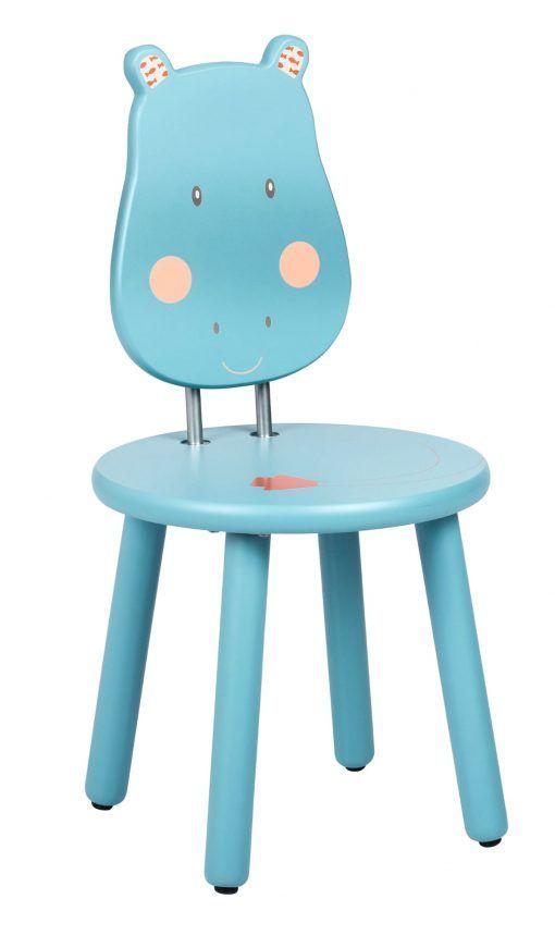 Krzesełko z oparciem Hipopotam