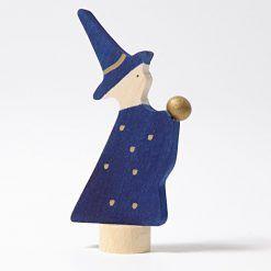 Drewniana figurka Czarodziej