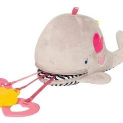 Pluszowy wieloryb z gryzakami