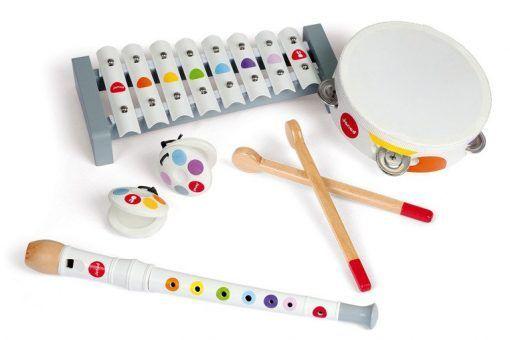 Zestaw zabawek muzycznych Confetti, Janod