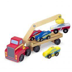 Ciężarówka z podnośnikiem