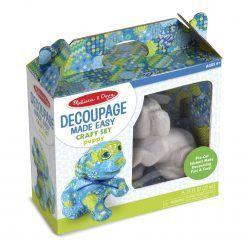 Decoupage – piesek do dekorowania