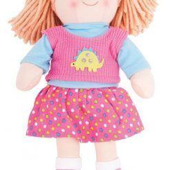 Duża lalka szmaciana Zuzia