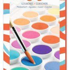 Farby gwaszowe 36 kolorów