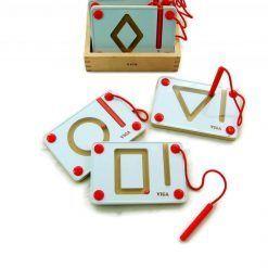 Magnetyczne kształty do nauki pisania – 10 sztuk