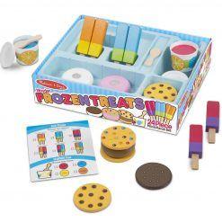 Mrożone smakołyki – zestaw do zabawy w sklep