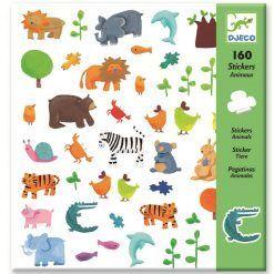 Zestaw 160 naklejek Zwierzęta