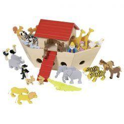 Arka Noego ze zwierzętami